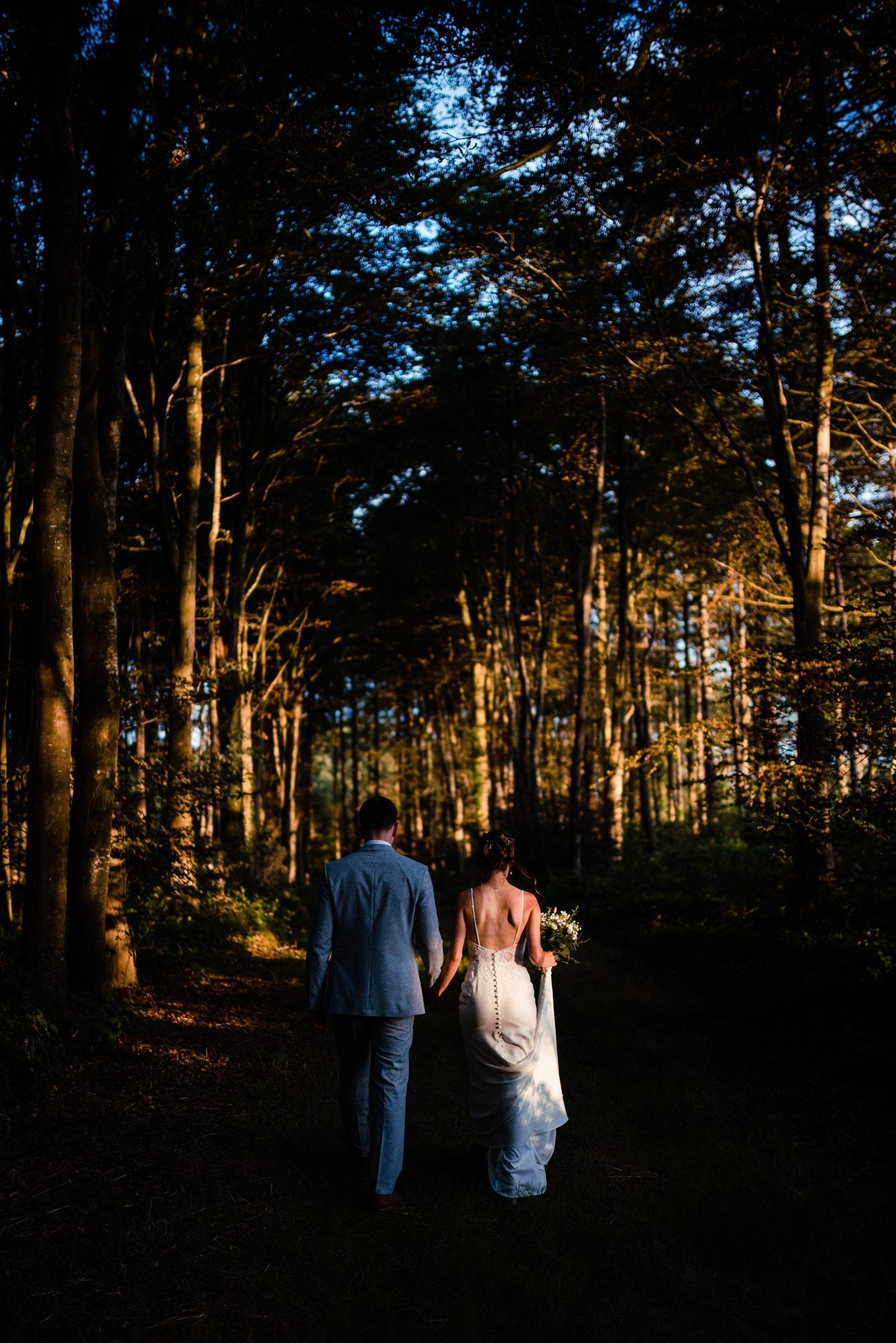 dorset wedding photography woodland
