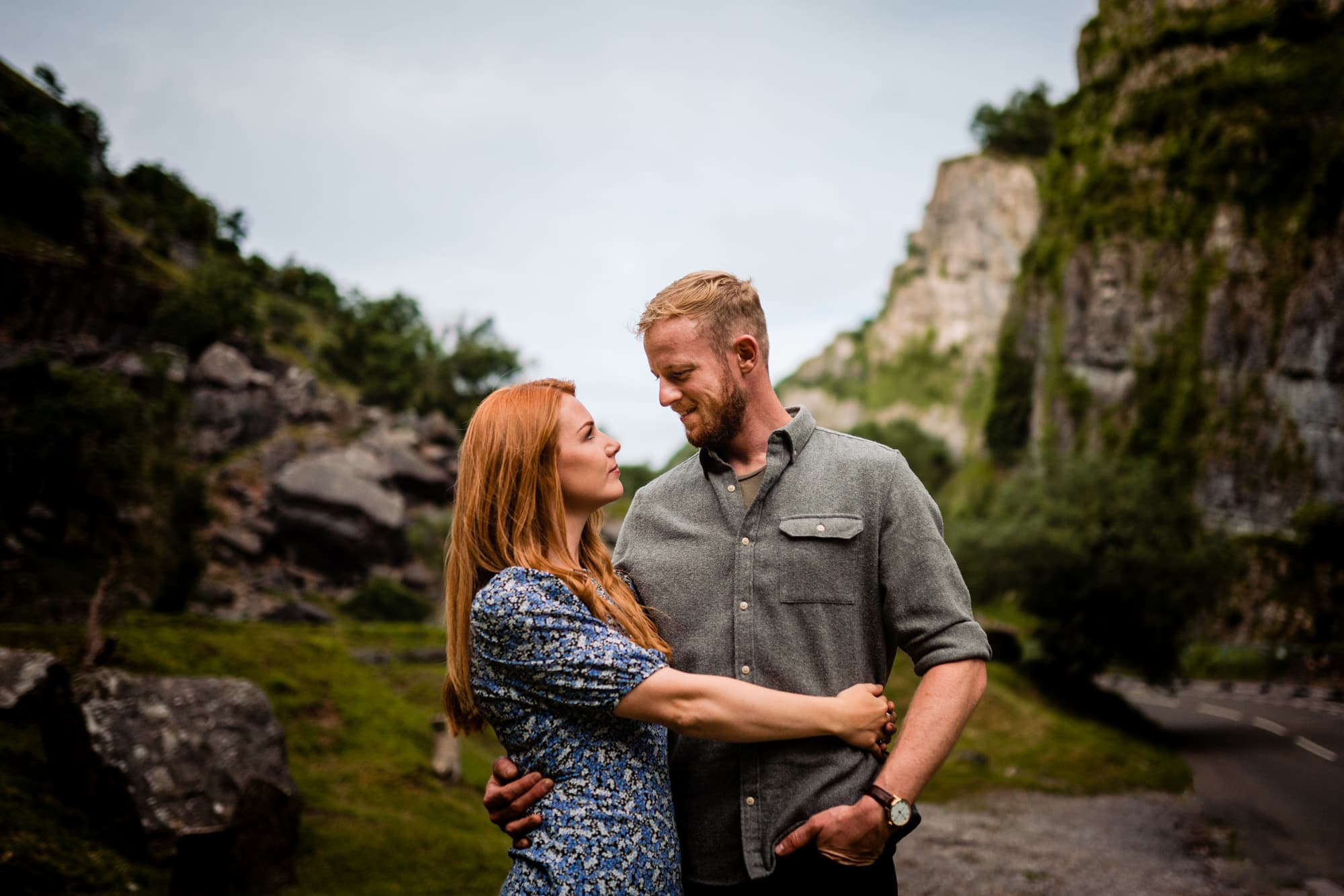 cheddar gorge couples photography