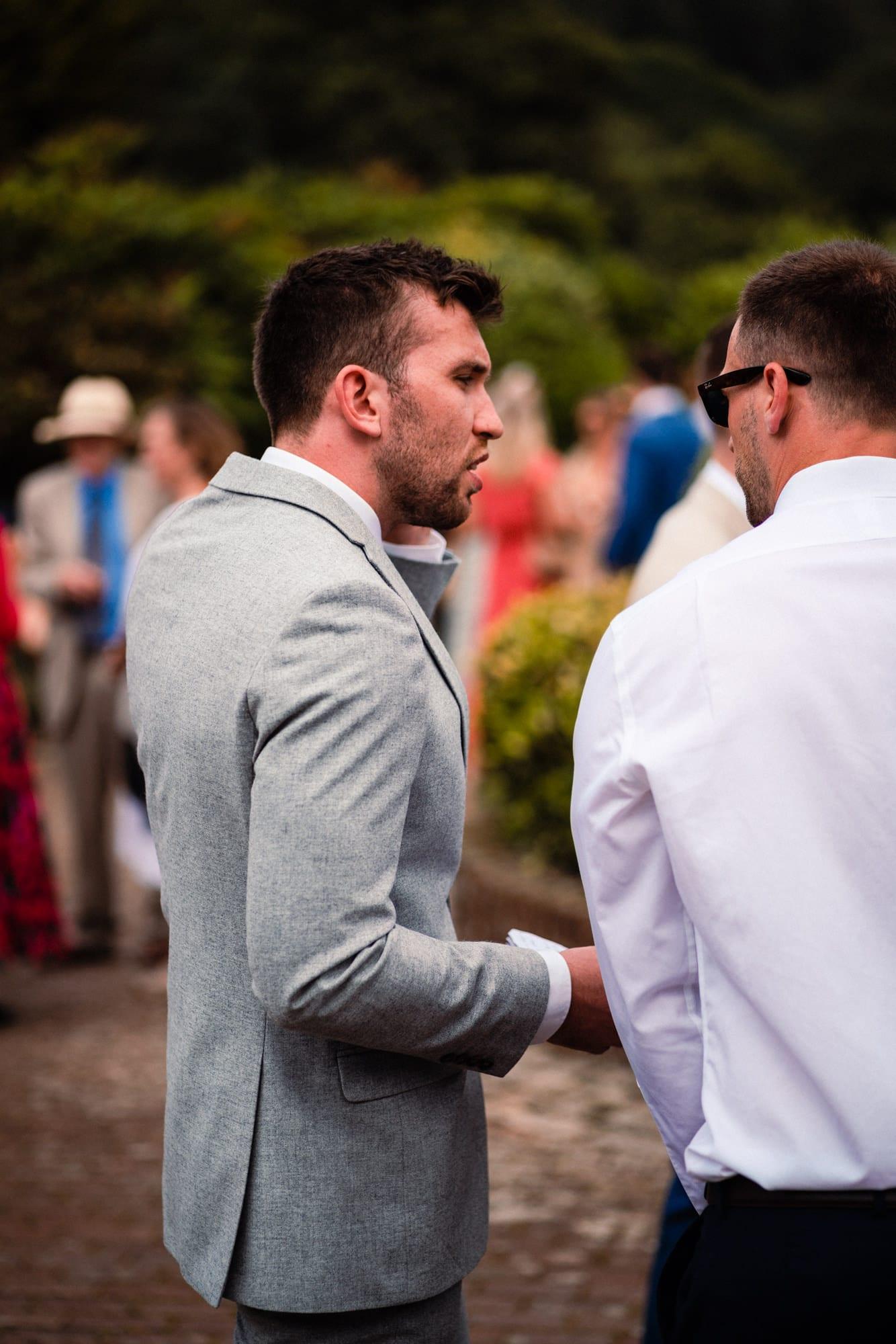 dorset wedding photography groom