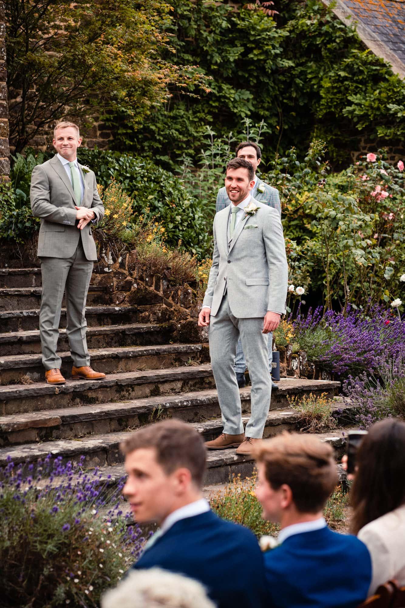 dorset wedding photography best men