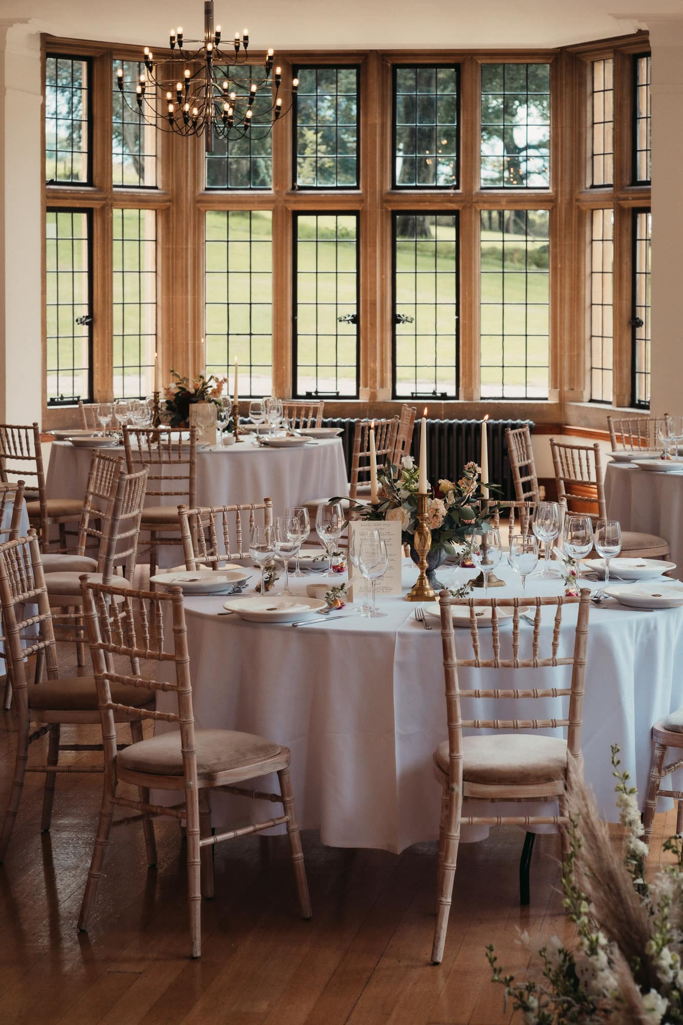 wedding breakfast at coombe lodge