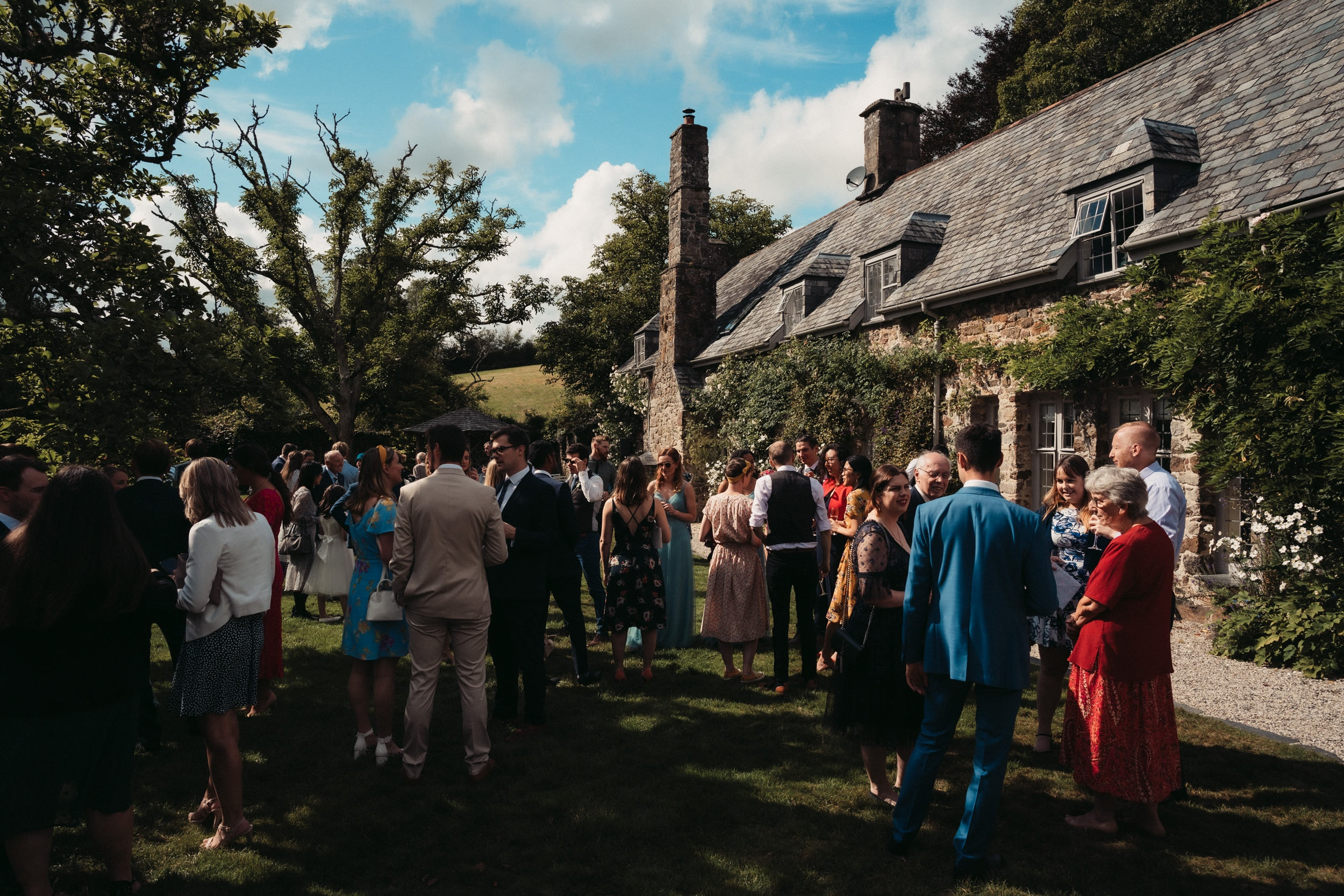 guests at the great barn devon