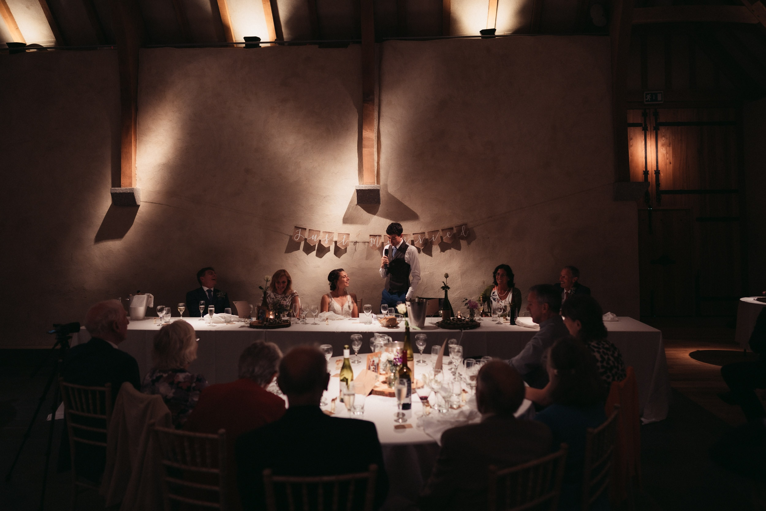 grooms speech at the great barn devon