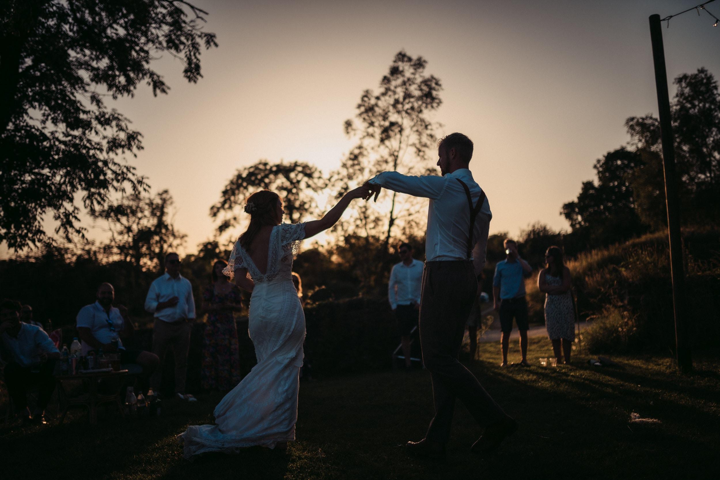 sunset first dance