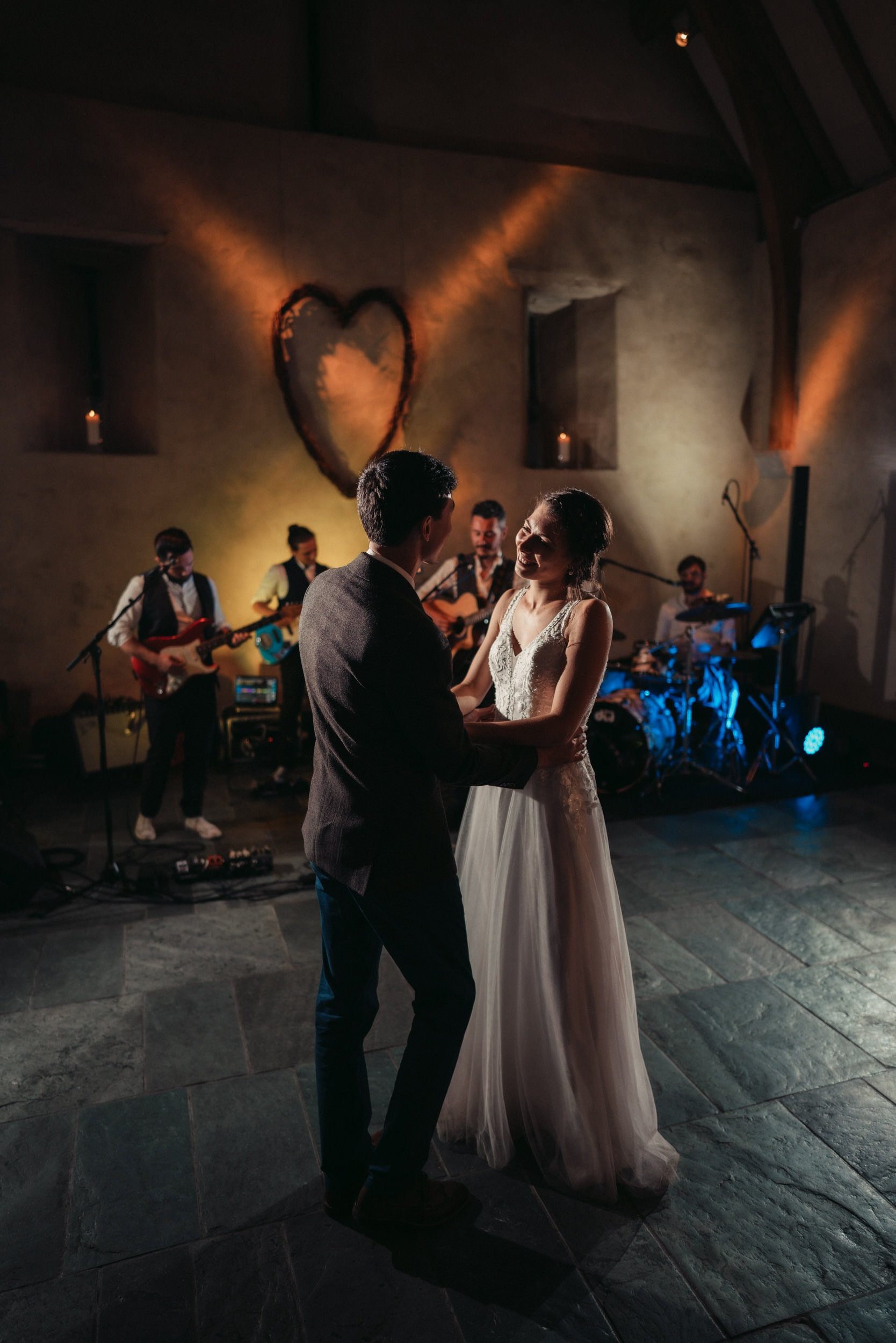 first dance at the great barn