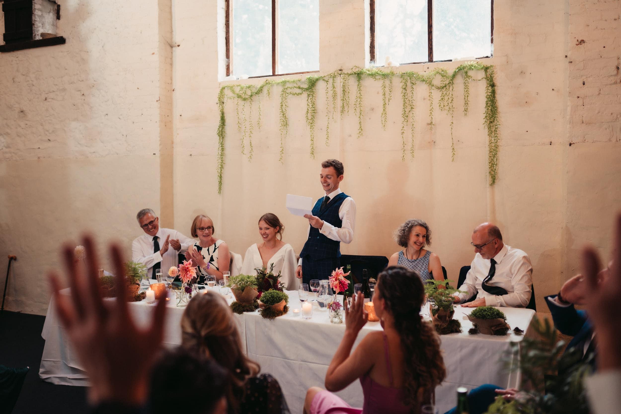 grooms speech at rye hill barn