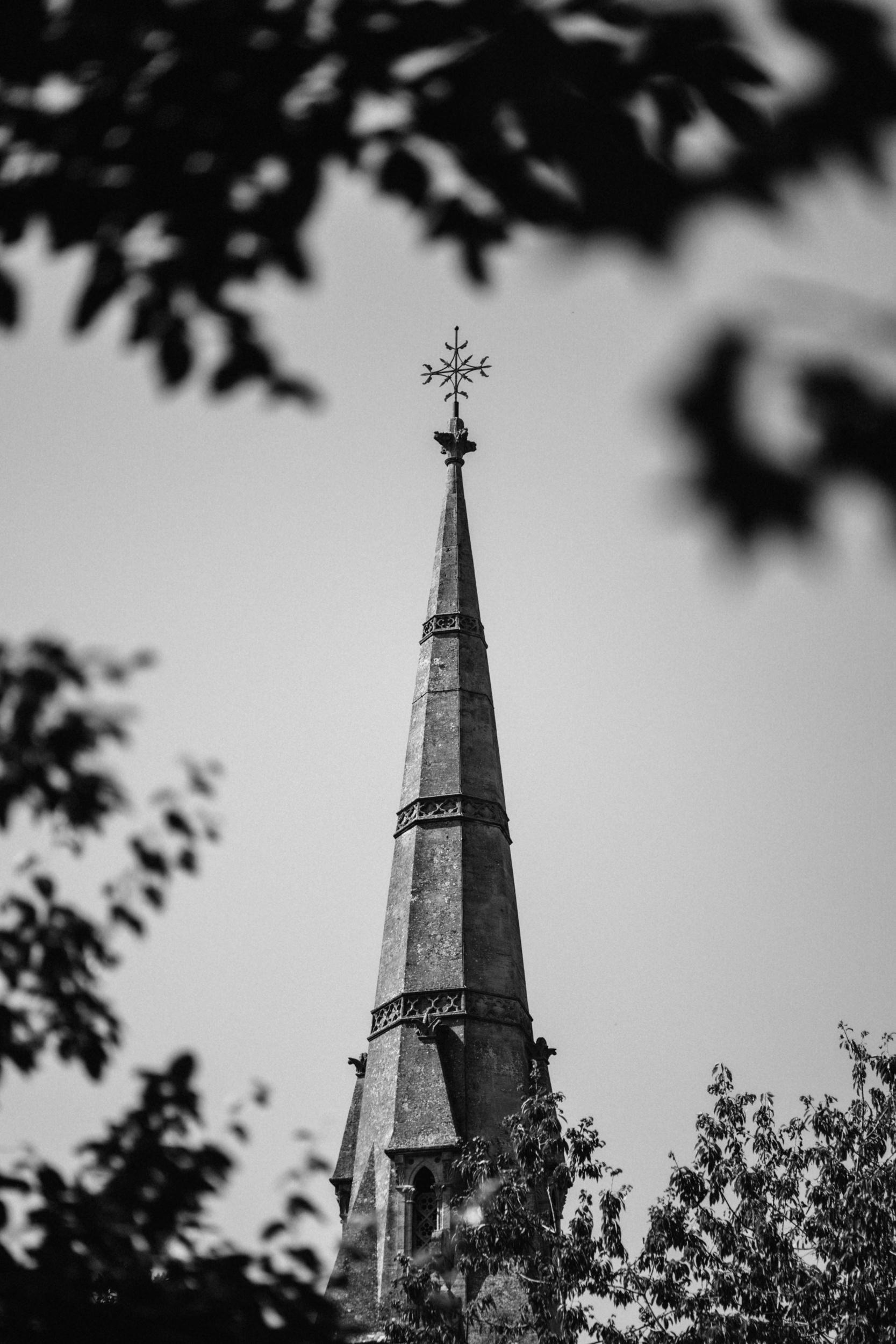 spire of st lukes church bath