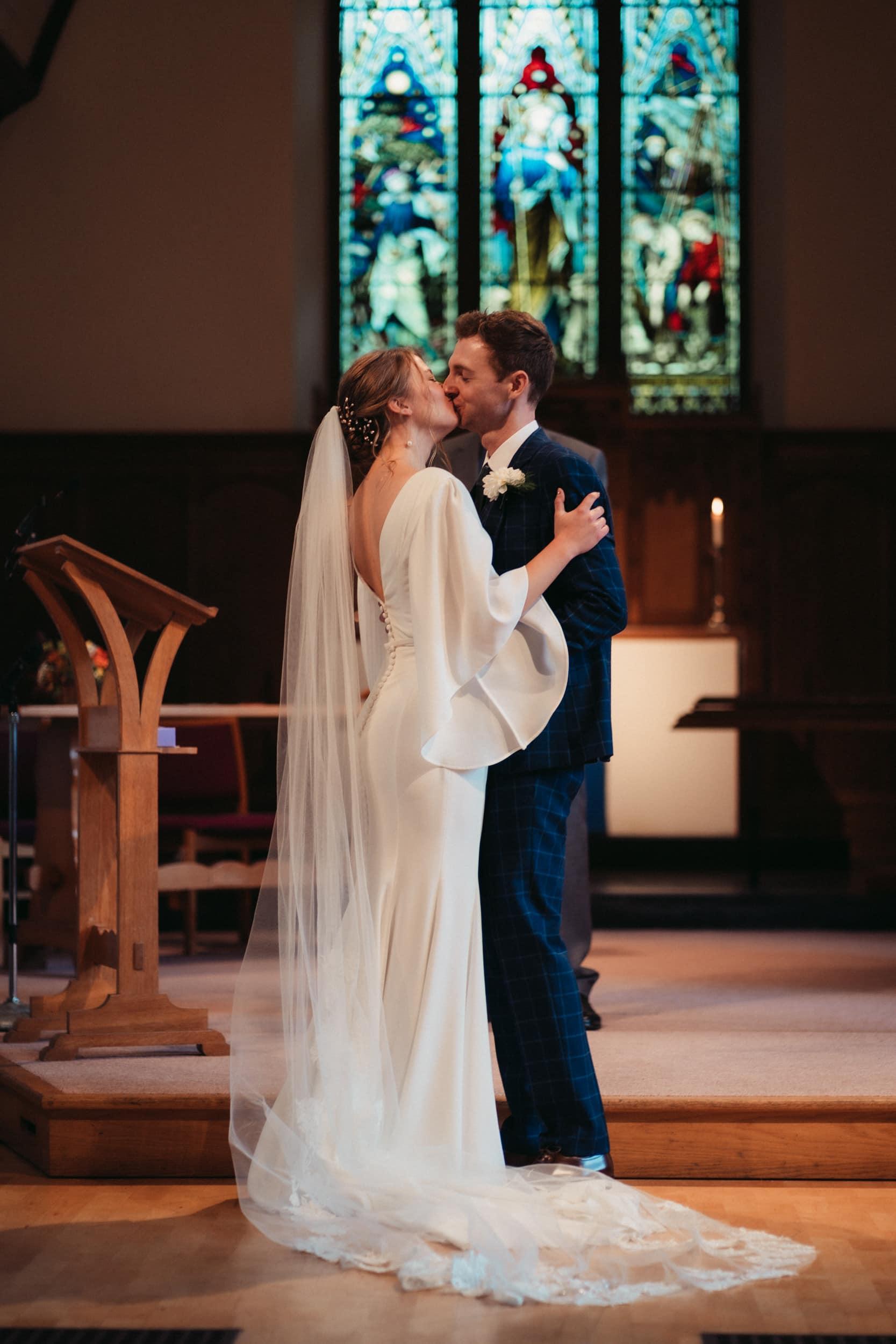 first kiss in st lukes church bath