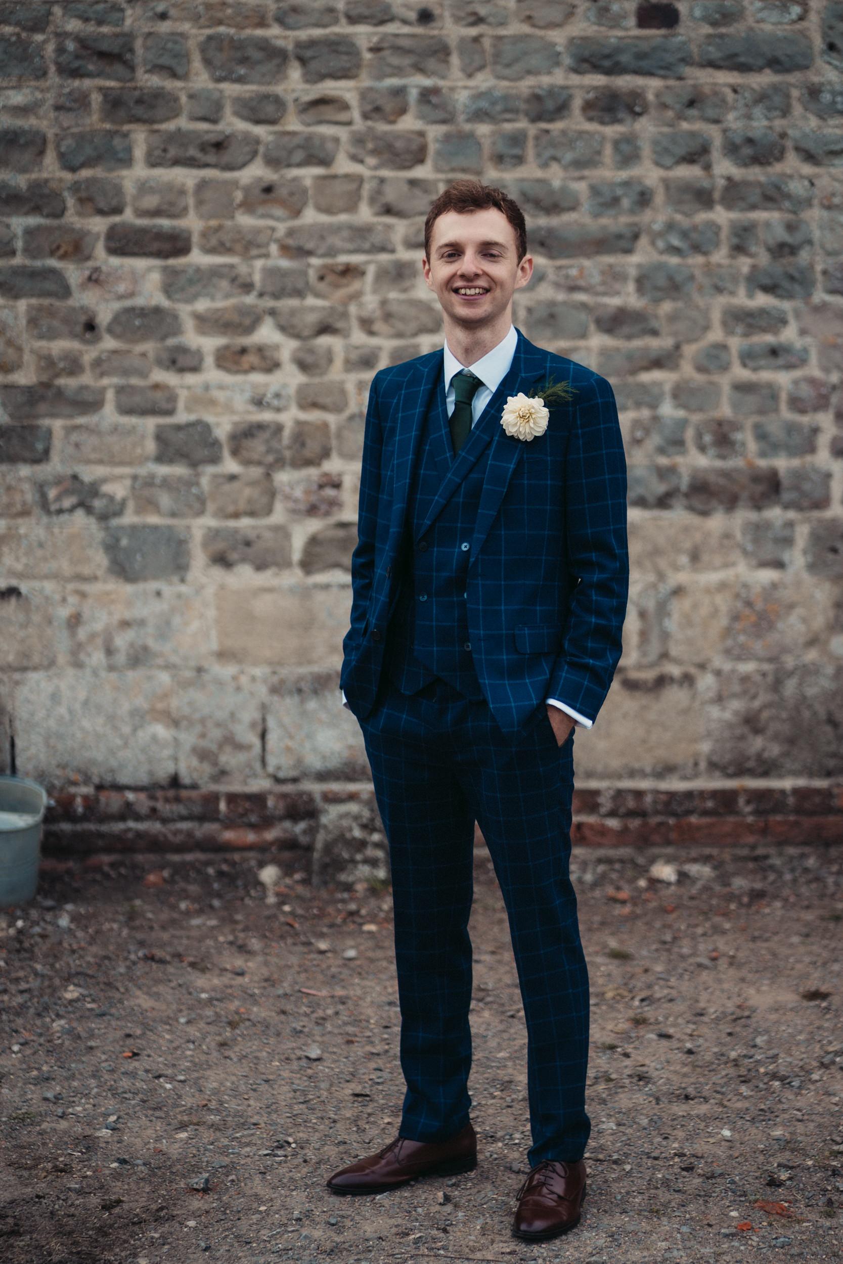 groom at rye hill barn