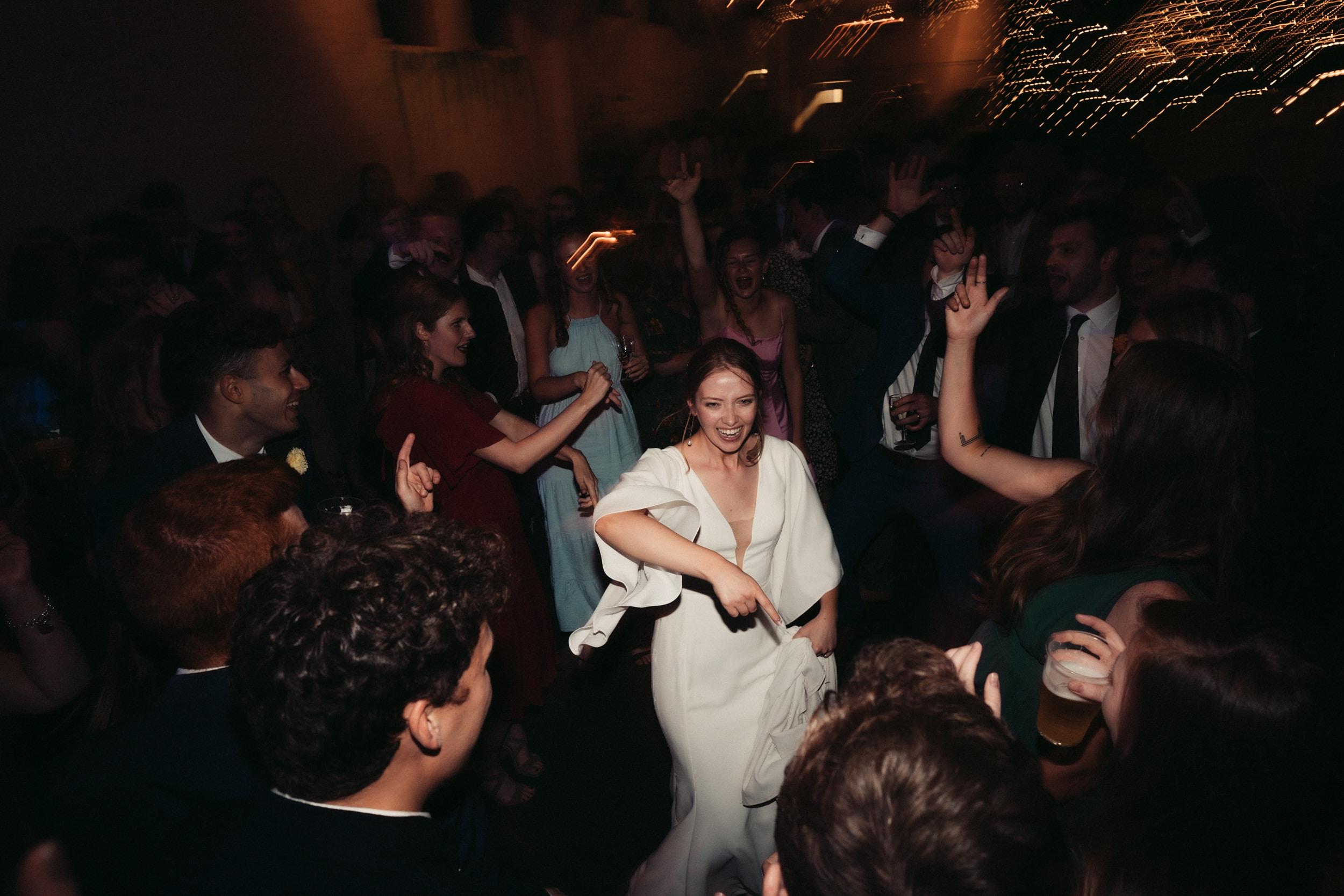 wedding party at rye hill barn